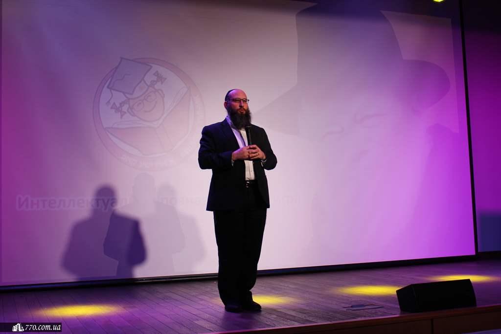 Член Попечительского Совета Днепропетровской еврейской общины раввин Меир Стамблер