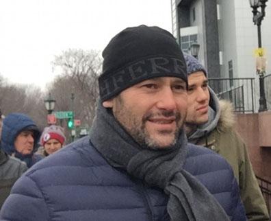 Дмитрий Грейдин — один из организаторов праздника плавания в Днепродзержинске