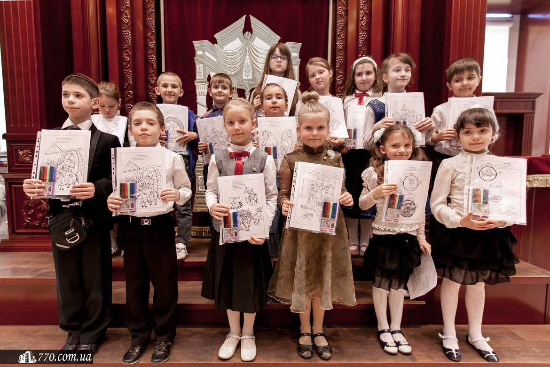 Празднование Дня рождения Любавичского Ребе в синагоге «Бейт-Реувен»