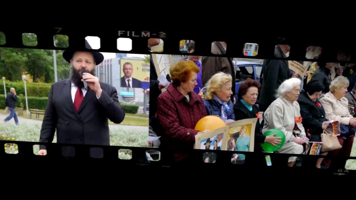 Репортаж на городском телевидении о праздновании Лаг-баОмер