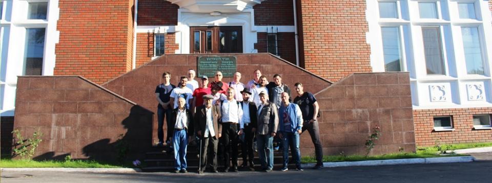 Гости из Московской ешивы «Томхей Тмимим»