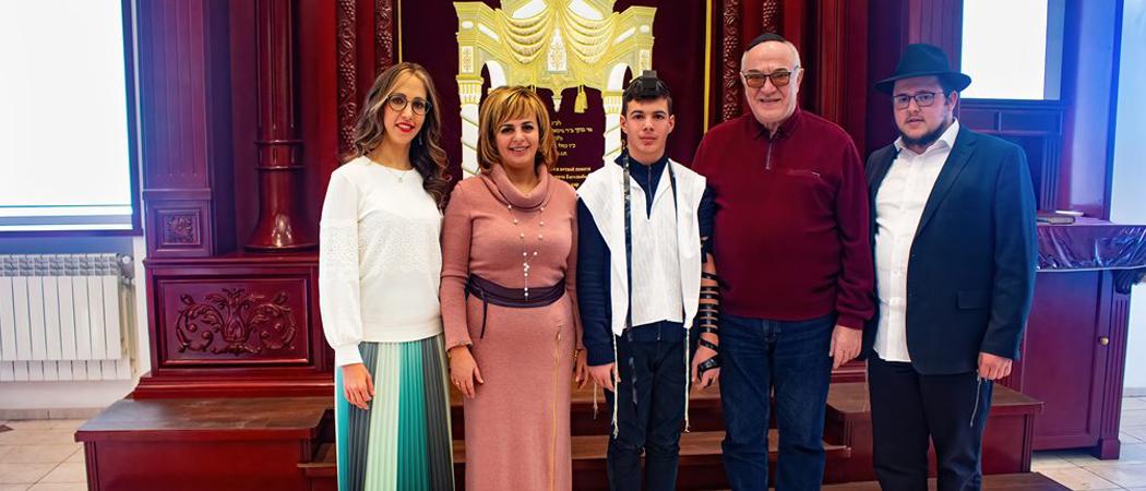 В УВК «Ор-Авнер» отпраздновали Бар Мицву Леви Андрейко!
