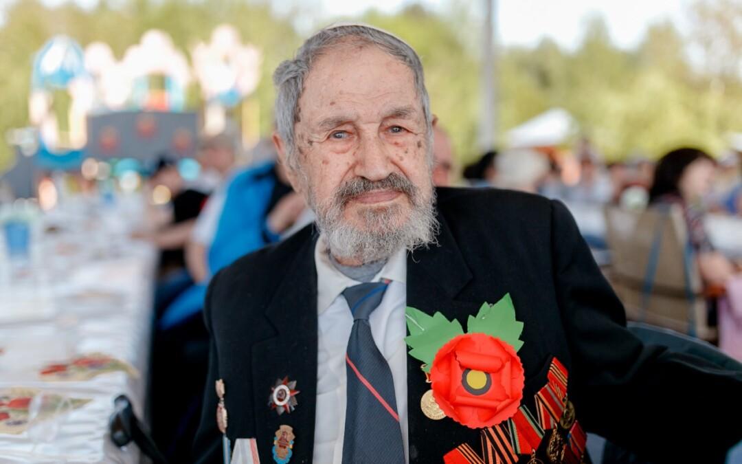 99 лет Исааку Яковлевичу Дубровскому