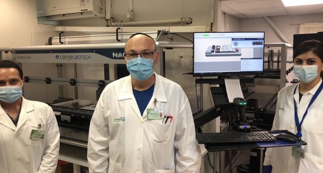 Авраам Мильман — сотрудник лаборатории по исследованию коронавируса в Хайфе