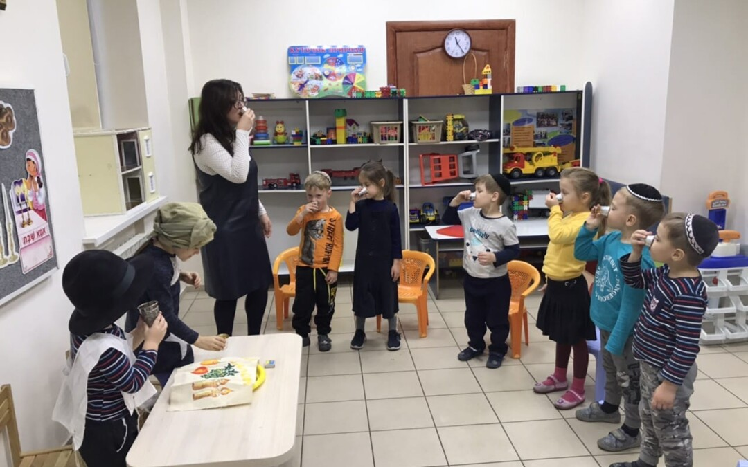 Кабалат Шабат в детском саду «Хая Мушка»