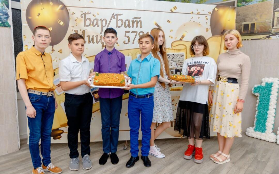 УВК «Ор-Авнер»: празднование Бар/Бат Мицвы